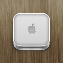 白色圆角矩形苹果手机APP图标
