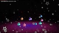 彩色圣诞装饰背景视频