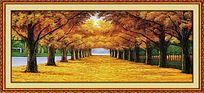 枫树林装饰画