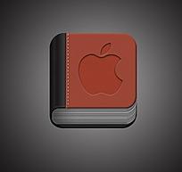 苹果书本手机APP图标