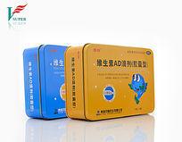 维生素AD滴剂罐装包装摄影