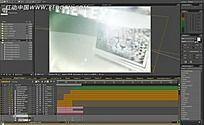 AE视频剪辑界面视频