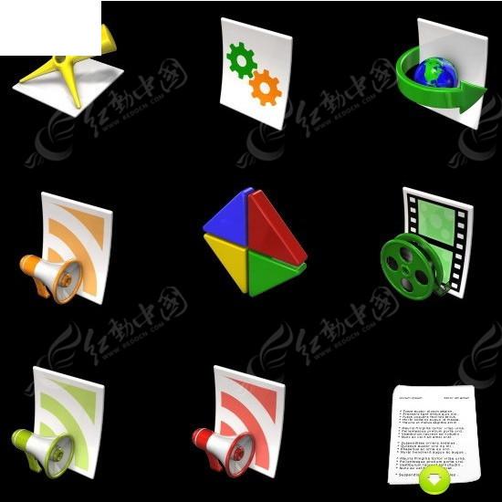 创意手机app图标图片
