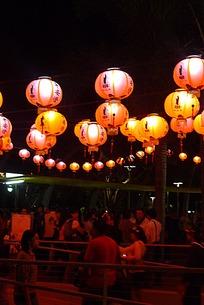 灯会里的人群
