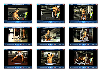 男子健身房健身视频