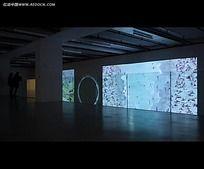 室内展厅设计视频