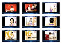 瑜伽运动讲解视频素材