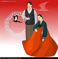 韩国古代夫妻漫画
