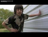 国外小孩实拍视频