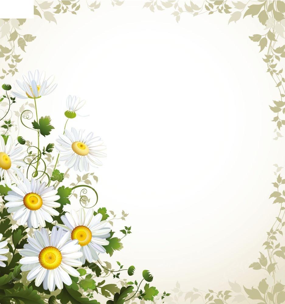 花朵花纹边框矢量背景矢量图EPS免费下载 底纹背景素材