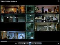 家居灯效装饰图视频