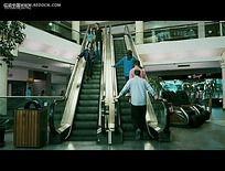 上下手扶电梯视频