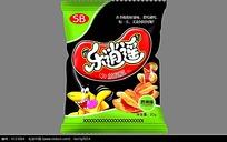 乐逍遥兰花豆食品包装袋设计
