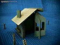 瓦楞纸盒房子视频