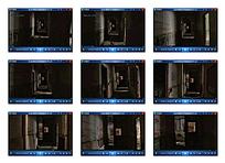 实拍旧楼房走廊视频