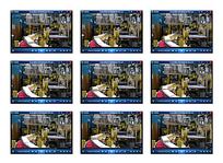实拍机械生产工业视频