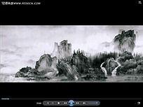 水墨山水风景视频
