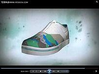 3D鞋子视频