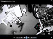 书本电线创意视频