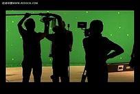 绿屏剪影背景视频