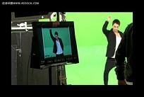 绿屏影棚拍摄视频