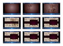 欧式花纹边框视频