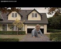 特效婴儿房子视频