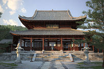 中式古建3d模型设计