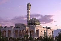宗教建筑3d模型设计