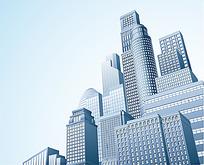 都市高楼矢量图形