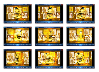 金色光效显微镜视频