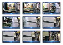 机器机械电路视频