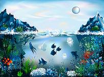 海上岛屿与海下世界