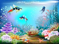 五光十色的海底世界