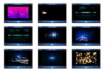 彩色光效星光视频