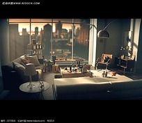 3D室内场景视频