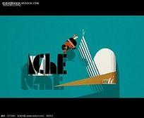 创意动画广告视频