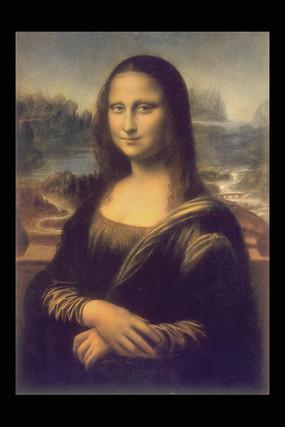 蒙娜丽莎的微笑装饰画