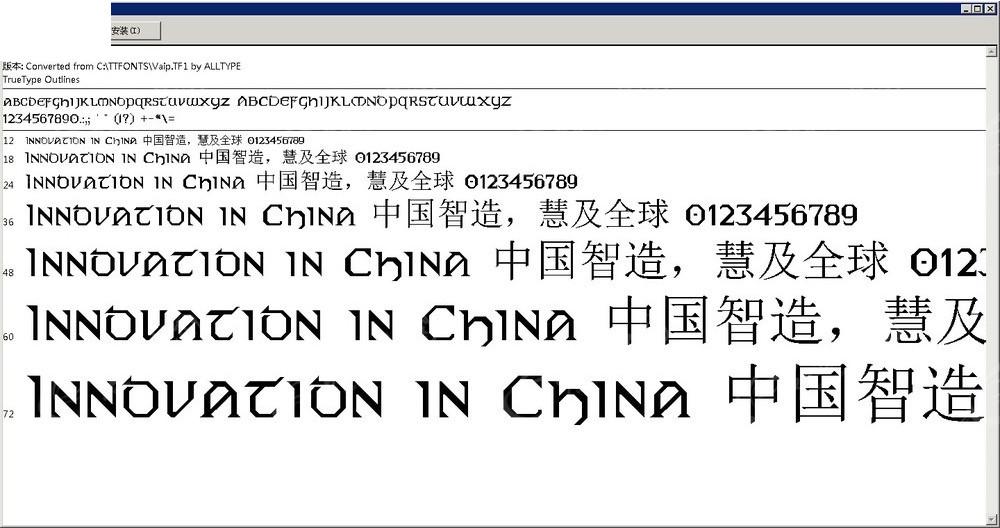 Vaip英文字体设计免费下载_英文字体_ttf安装字家具设计书图片