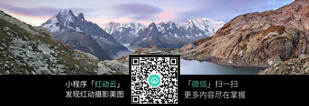 免费素材 图片素材 自然风光 自然风景 远山与湖泊自然风光