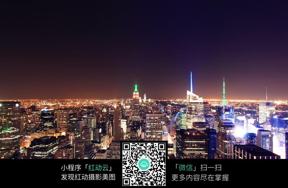 夜晚城市美景图片免费下载 编号4599426 红动网图片