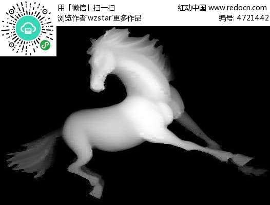 电脑精雕图动物图片