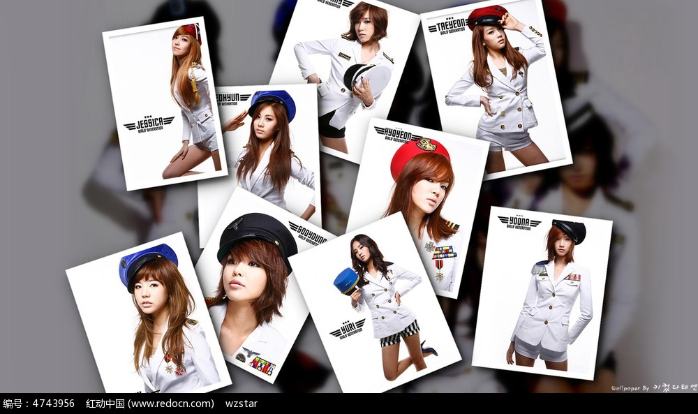 女孩 美女 海报 照片 少女时代 矩形 集体照 写真 名人 名人图片 人物图片