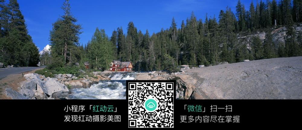 免费素材 图片素材 自然风光 自然风景 乡间流水  请您分享: 红动网