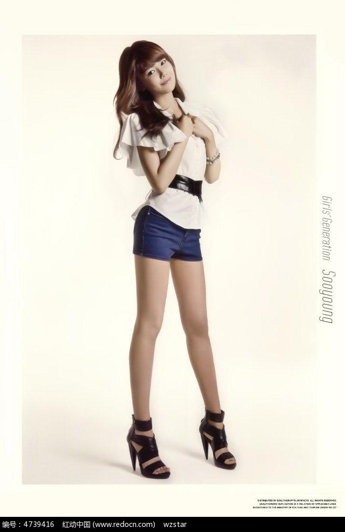 腿的美少女图
