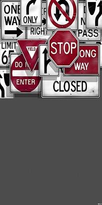 公路指示牌合集