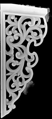 古典中式风格花纹边框精雕画图片