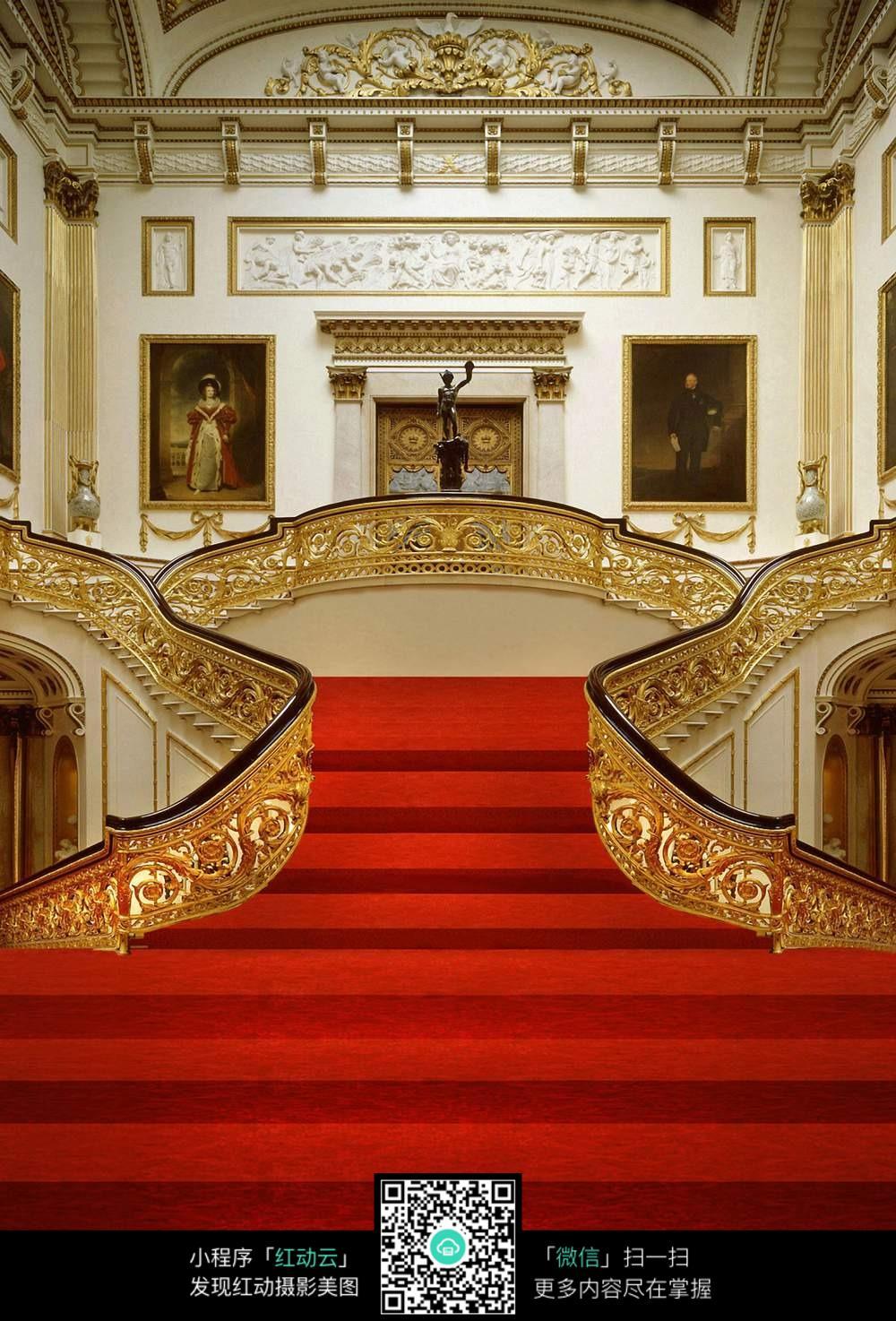宫殿 雕花 华贵图片