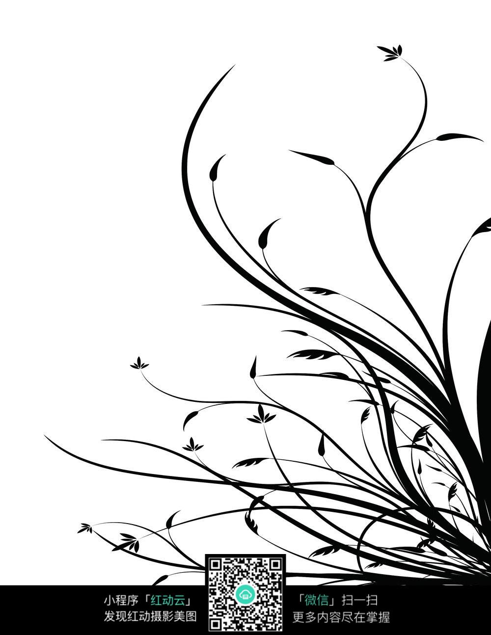 黑白背景图