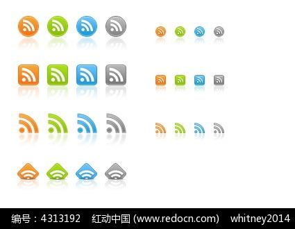 28个手机wifi信号图标素材PSD免费下载 编号4313192 红动网图片
